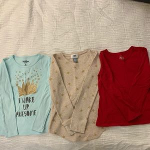 Long sleeve shirt bundle -GIRLS